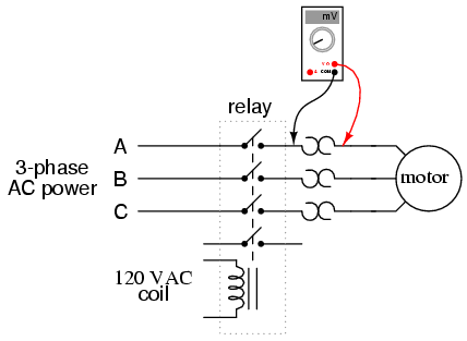 contact circuit 480 Volt Lighting Wiring