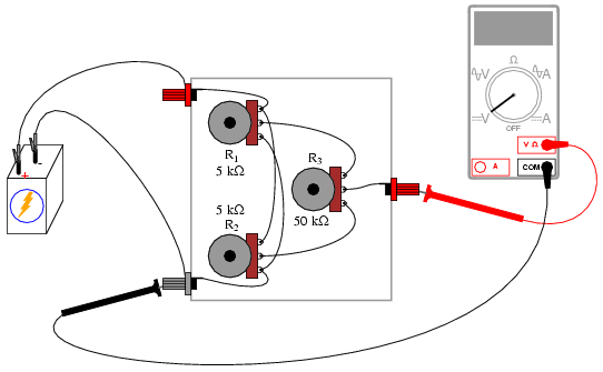 Potentiometer Circuit Diagram